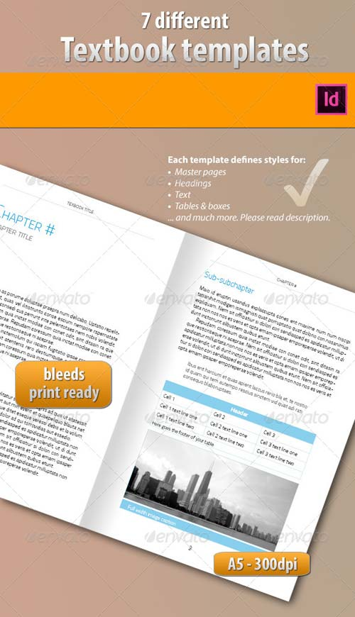 GraphicRiver 7 Ebook Templates