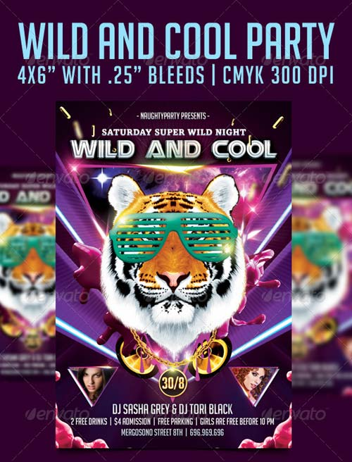 GraphicRiver Wild And Cool Party