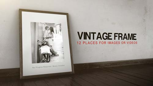 Vintage Frame Gallery - After Effects Project (Videohive)