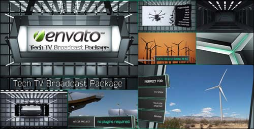 Tech TV Broadcast Package - After Effects Project (Videohive)