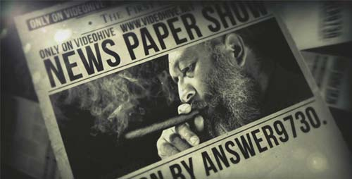 News Paper Show - After Effects Project (Videohive)