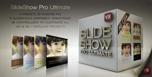 Slideshow Pro Ultimate - After Effects Project (Videohive)