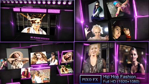 Hip Hop Fashion - After Effects Project (Videohive)