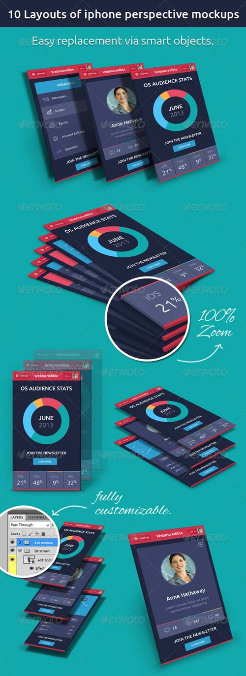 GraphicRiver Phone Mock-up
