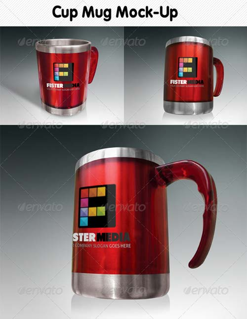 GraphicRiver Cup Mug Mock-Up