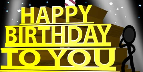 Happy Birthday Ecard - Inkman - After Effects Project (Videohive)