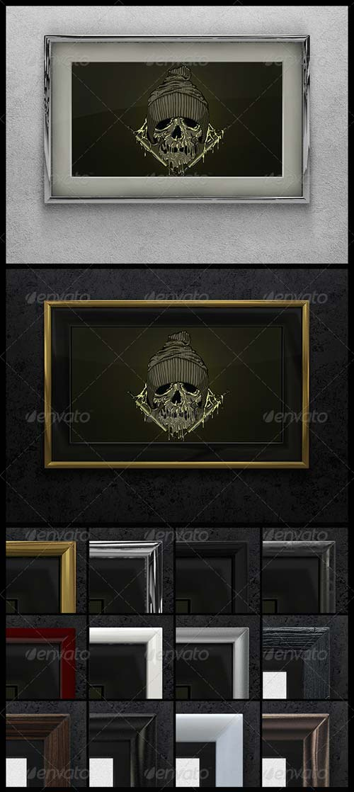 GraphicRiver Artwork Frame Mock-up