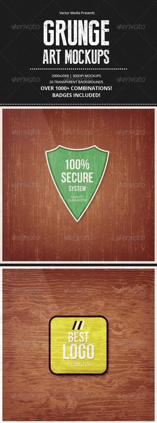 GraphicRiver Grunge - Art Mockups