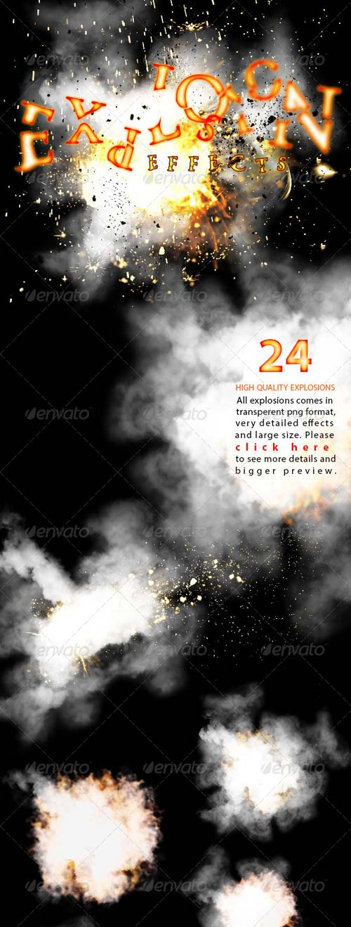 GraphicRiver Explosion Effects
