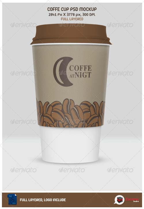 GraphicRiver Coffe Cup Mockup
