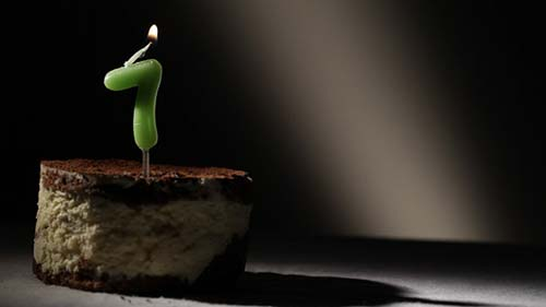 Candle 7 In Tiramisu Cake - After Effects Motion Graphics (Videohive)