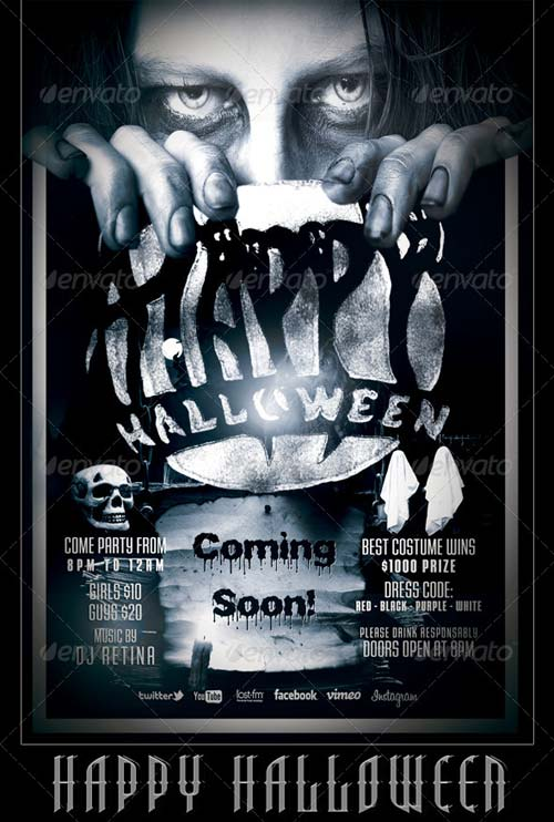 GraphicRiver Halloween Flyer/Poster Template