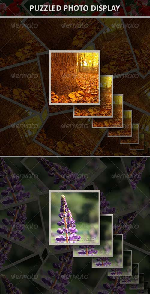 GraphicRiver Puzzled Photo Display