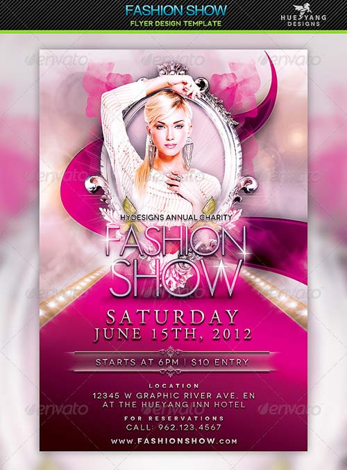 GraphicRiver Fashion Show Flyer Template