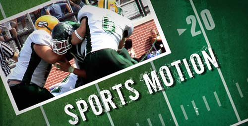 Sports Motion - After Effects Project (Videohive)