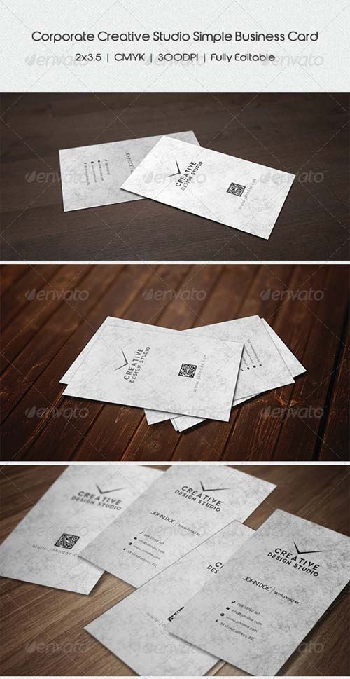 GraphicRiver Corporate Simple Business Card