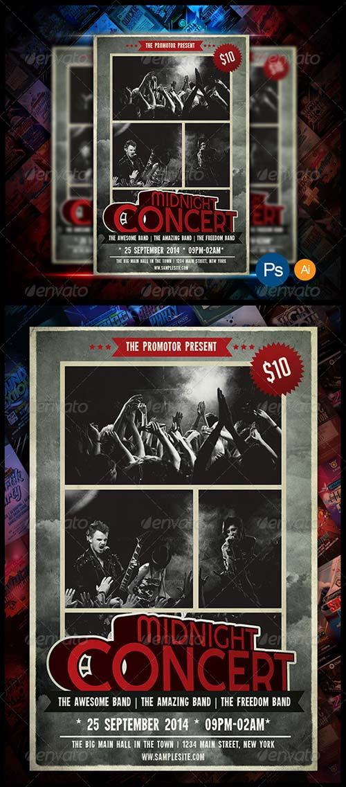 GraphicRiver Concert Event Flyer