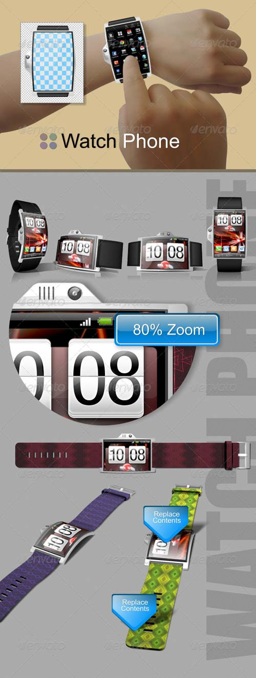 GraphicRiver Watch Phone