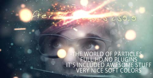 The World Of Particles - After Effects Project (Videohive)