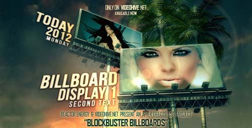 Blockbuster Billboards - After Effects Project (Videohive)