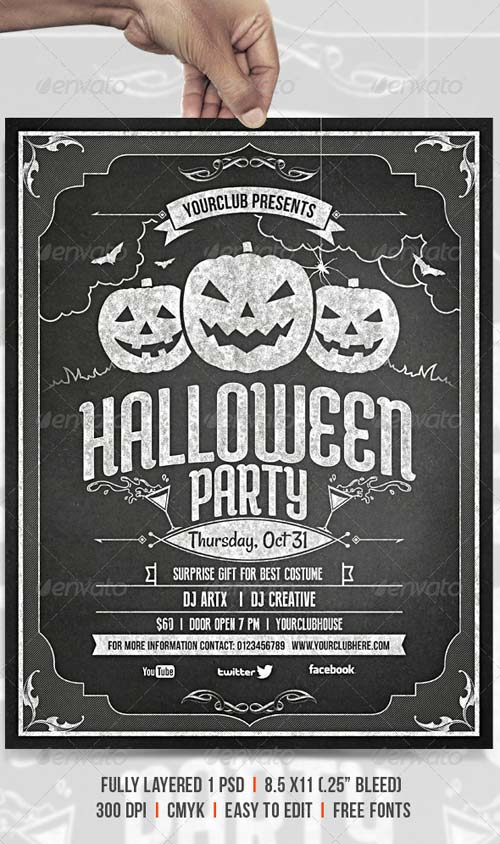 GraphicRiver Halloween Party