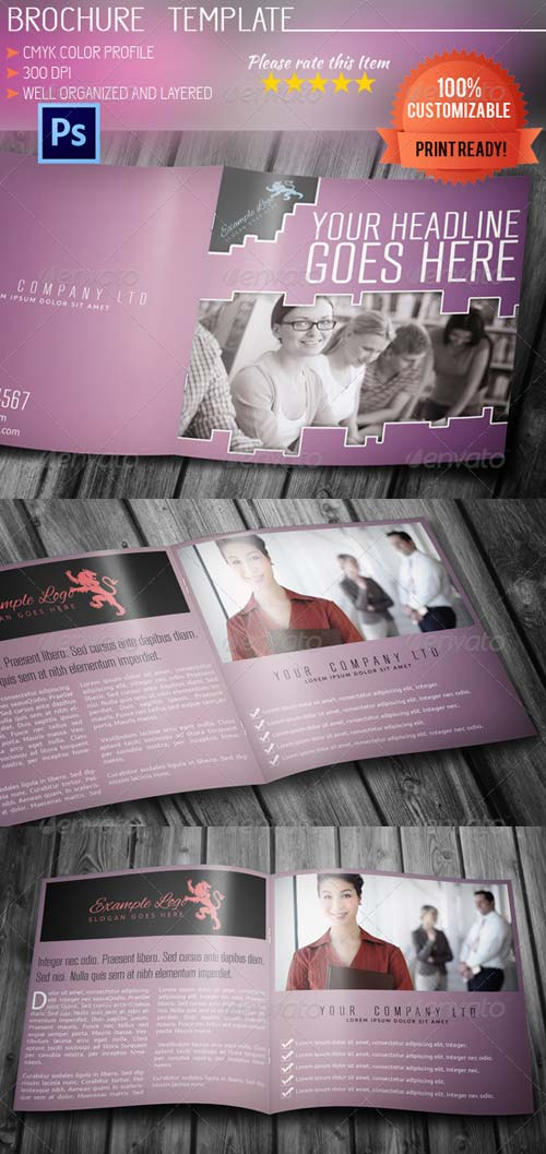 GraphicRiver Multipurpose Square Brochure