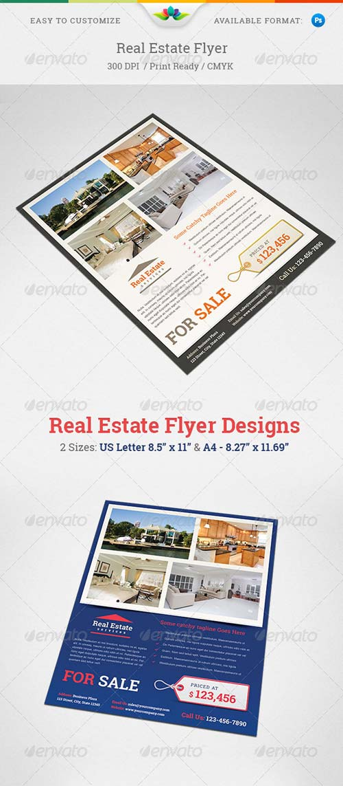 GraphicRiver Real Estate Flyer