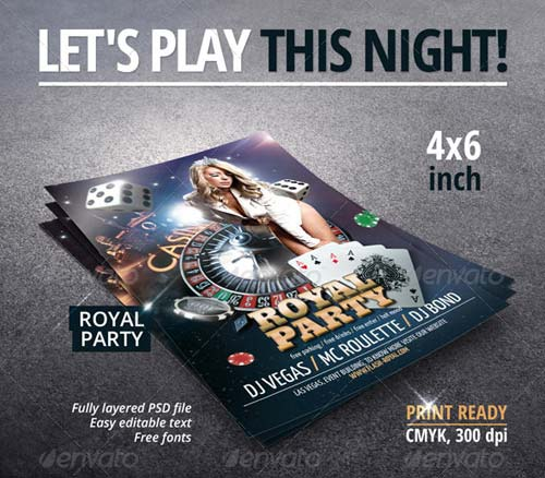 GraphicRiver Royal Party Flyer