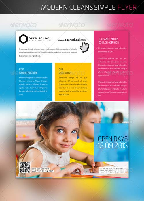 GraphicRiver School Flyer