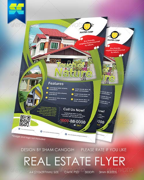 GraphicRiver Real Estate Modern Flyers