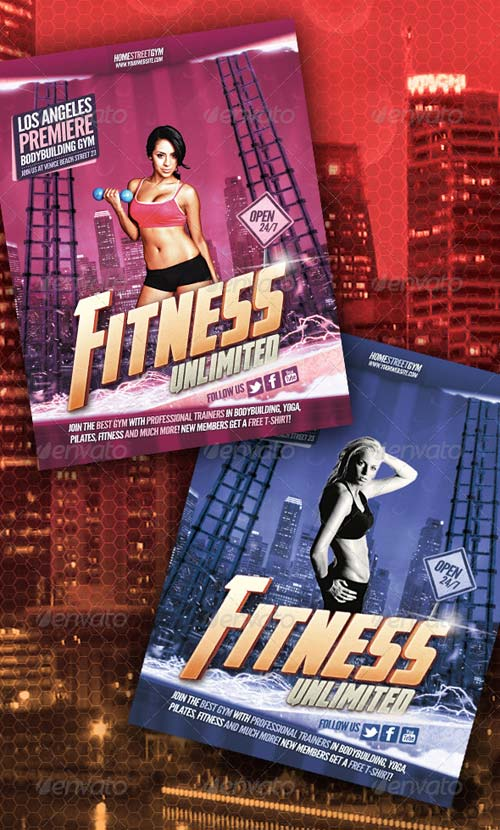 GraphicRiver Fitness / Bodybuilding Flyer