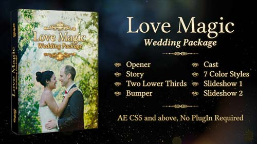 Love Magic Wedding Package - After Effects Project (Videohive)