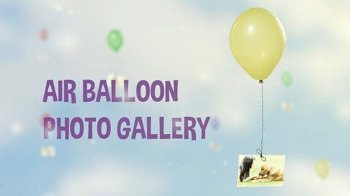 Air Balloon Photo Gallery - After Effects Project (Videohive)