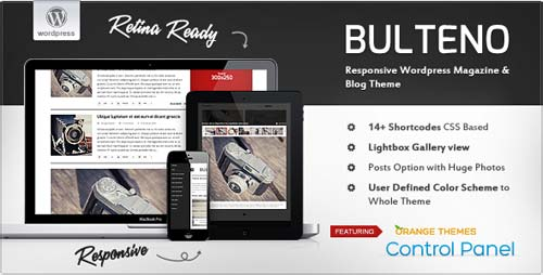 ThemeForest - Bulteno - Responsive News/Magazine Theme