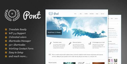 ThemeForest - Pont - Multipurpose Wordpress Theme