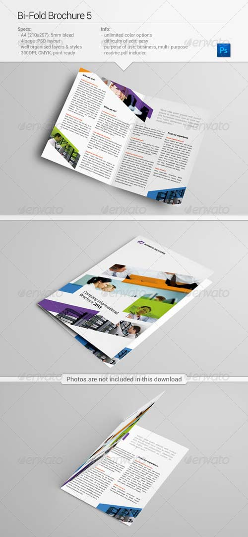 GraphicRiver Bi-fold Brochure 5