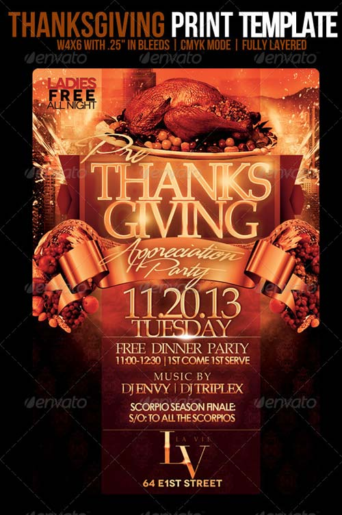 GraphicRiver Thanksgiving Template