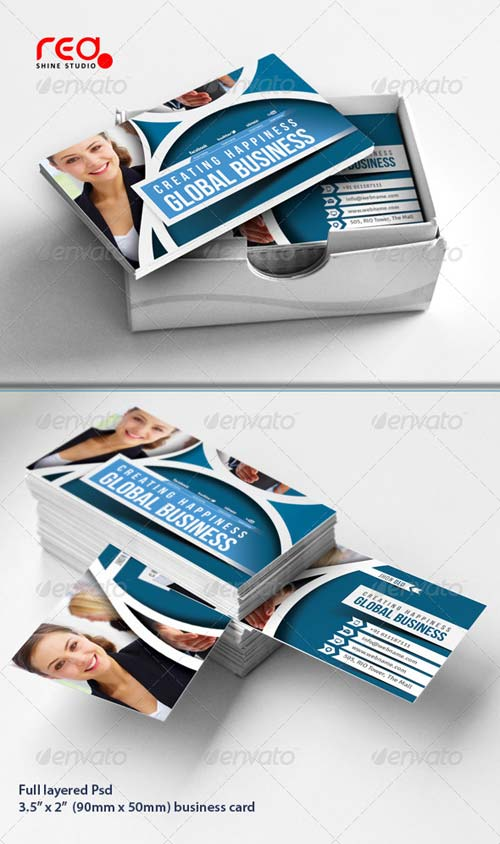 GraphicRiver Corporate Business Card Set