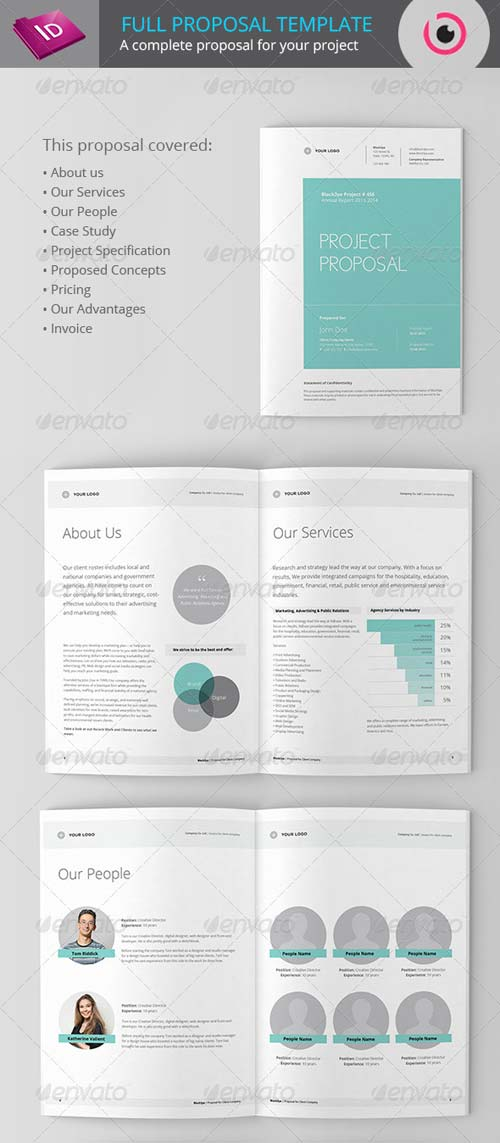 GraphicRiver Full Project Proposal Template