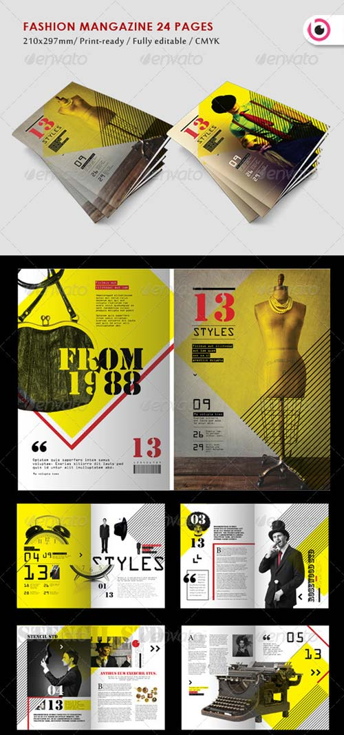 GraphicRiver Fashion Style Magazine