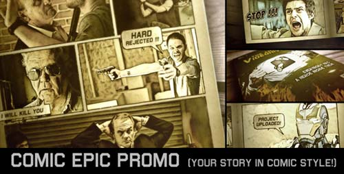 Comic Epic Promo - After Effects Project (Videohive)