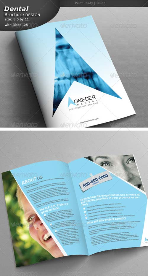 GraphicRiver Dental Brochure Design
