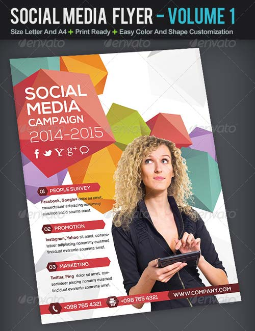 GraphicRiver Social Media Flyer | Volume 1