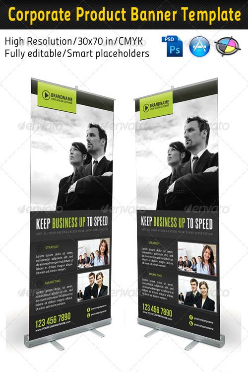 GraphicRiver Corporate Multipurpose Banner Template 08