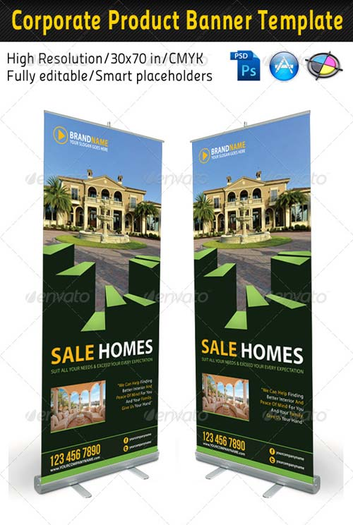 GraphicRiver Real Estate Banner Template 03