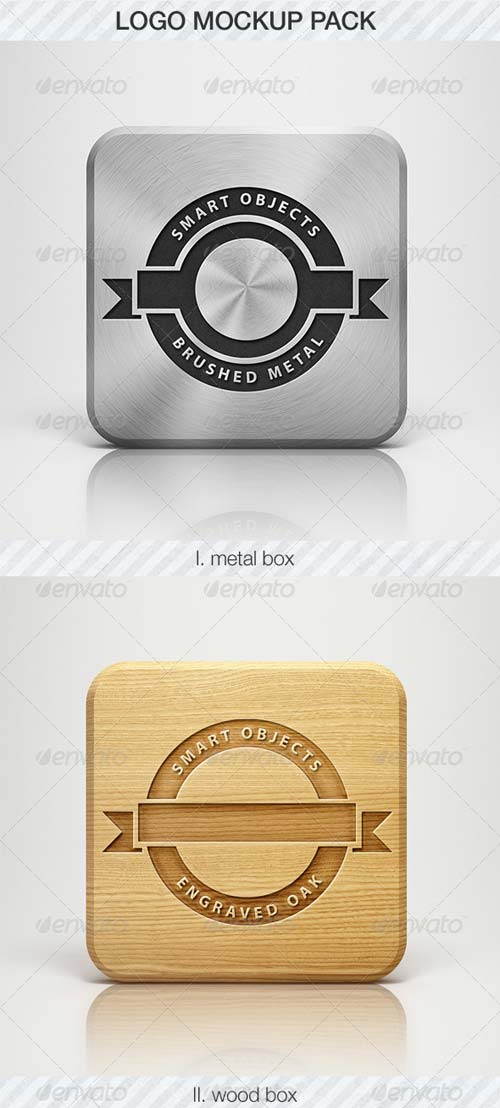 GraphicRiver Logo Mockup Pack