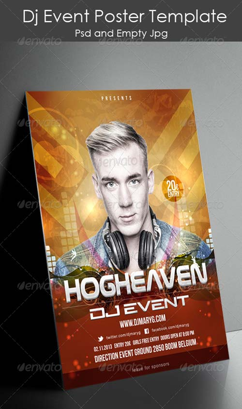 GraphicRiver Dj Event Poster Template
