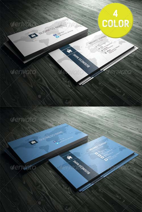GraphicRiver Business Card 5490300
