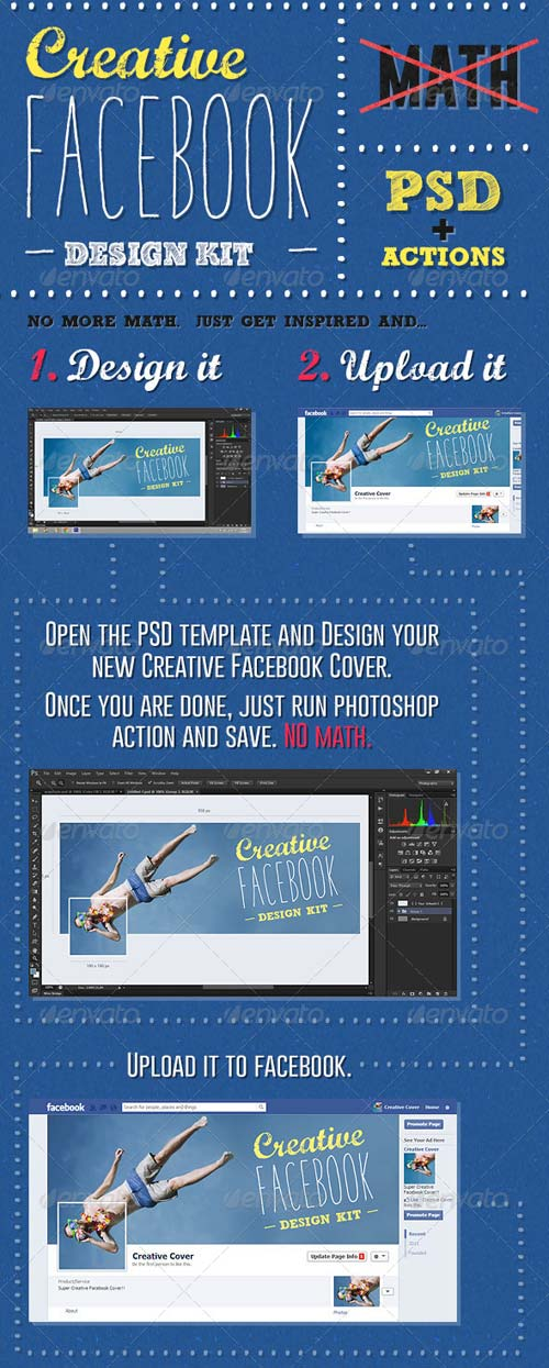 GraphicRiver Creative Facebook Cover Creation Kit