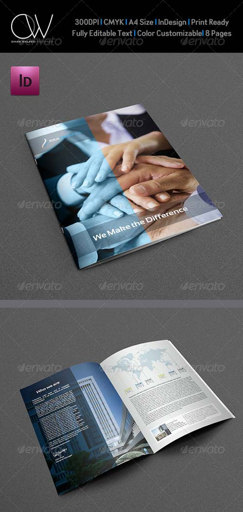GraphicRiver Company Brochure Template Vol.8 - 8 Pages